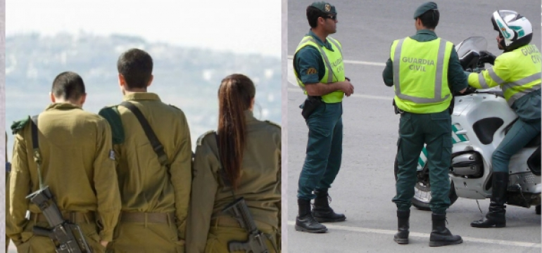 Plazas Ministerio de Defensa: Militares de carrera y Guardia Civil